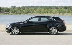 Cadillac CTS Sport Wagon profile