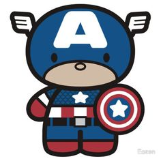 Most popular tags for this image include: chibi, kawaii, new and capitan america