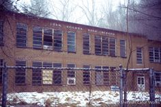 The Glen Rogers, West Virginia high school, located deep within the coalfields of Wyoming County along Laurel Fork, was built in 1951 and replaced an earlier school. Adjacent to the high school was an elementary school. The high school closed in 1992 when enrollment dropped under 200 students