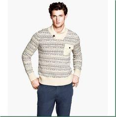 Men's Casual Wear: Garrett Neff for HM Fall/Winter 13