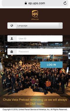 30 Upsers Mobi Ideas Login Website United Parcel Service Portal Design