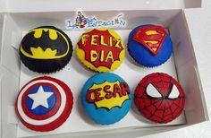 CUPCAKE COMIC - CUPCAKE SUPER HEROES