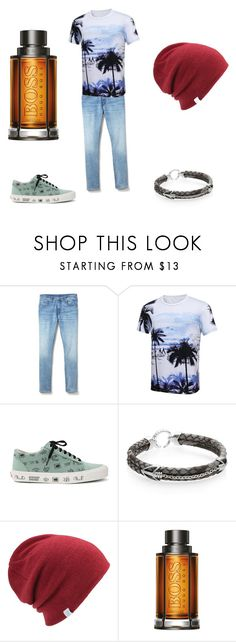 """Untitled #41"" by ajk34985 ❤ liked on Polyvore featuring Gap, Vans, StingHD, Coal, BOSS Hugo Boss, men's fashion and menswear"