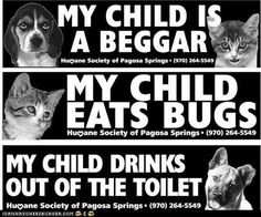 awesome humane society bumper stickers & tees!