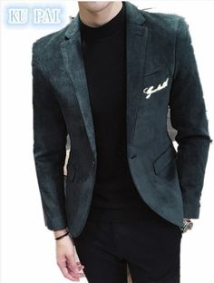 2017 spring new men's casual suits male Korean version of the business Slim small suit corduroy single West youth jacket tide. Yesterday's price: US $52.00 (43.13 EUR). Today's price: US $46.28 (38.52 EUR). Discount: 11%.