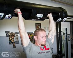 Český strongman Jiří Tkadlčík ve spolupráci s General Sport, Under Armour