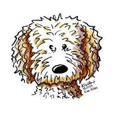 goldendoodle cartoon - Google Search