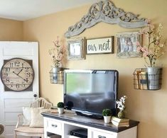 Decorative wood carving for vintage living room ideas on a budget