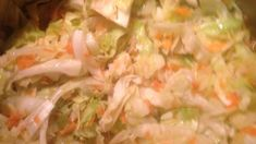 Jamaican Steamed Cabbage And Carrot Recipe - Genius Kitchen Cabbage And Carrot Recipe, Steamed Cabbage, Carrot Recipes, Cabbage Recipes, Vegetable Recipes, Kale Recipes, Healthy Recipes, Jamaican Cuisine, Salad