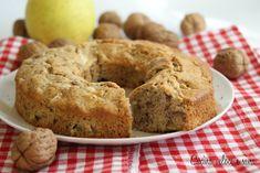 Ciambella alle mele e noci con farina di grano saraceno