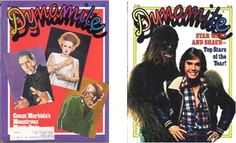 Dynamite Magazine - reminds me of 4th Grade & my teacher, Mr. Bracey.  We read this in class for fun.