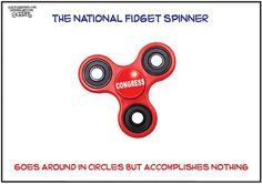 THE NATIONAL SPINNER | Jun/26/17 Cartoon by Bob Gorrell -