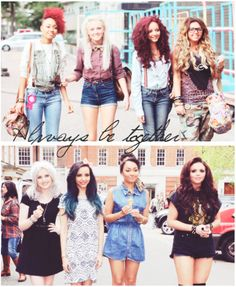 Awww I'm crying cause this picture is so great! It really shows how far the girls have come in 2 years! :) I can't wait for them to become huge in America, just like 1D. So proud of them #Proudmixer. -Lindsay C. :)