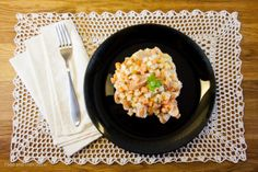 Everyday Pleasures: Frisotto aka frankfurter Risotto Finnish Cuisine, Risotto, Macaroni And Cheese, Vegetables, Ethnic Recipes, Food, Mascarpone, Mac And Cheese, Essen