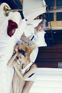 Trouble Maker HyunA and Hyunseung // Chemistry 2nd Mini Album Come visit kpopcity.net for the largest discount fashion store in the world!!