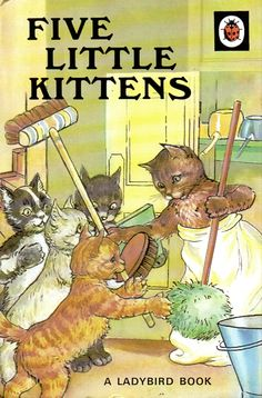 Buy FIVE LITTLE KITTENS a Ladybird Book from the Animal Rhymes Series 401 Gloss Hardback  A delightful story told in verse