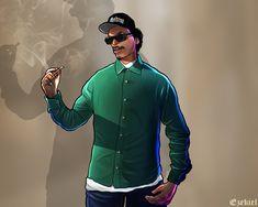 Ryder Artwork by Ezekiel-RN San Andreas Cheats, San Andreas Gta, Big Smoke Memes, Tyler Durden, Saints Row, Rockstar Games, Playstation Games, Gaming Wallpapers, Grand Theft Auto