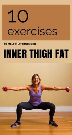10 Exercises To Melt That Stubborn Inner Thigh Fat 10 Exercises To Melt That Stubborn Inner Thigh Fat Related posts:Nackenverspannungen in 4 Minuten lösen – Teste es selbst!Am Oberschenkel abnehmen: Fitness Motivation, Fitness Workouts, At Home Workouts, Fat Workout, Fitness Diet, Fitness Icon, Fitness Band, Fat Burning Workout, Fitness Tracker