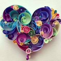 Paper quilled art roundup to get some ideas rolling around!