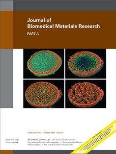 Публикации в журналах, наукометрической базы Scopus  Journal of Biomedical Materials Research Part A #Biomedical #Materials #Research  #Journals #публикация, #журнал, #публикациявжурнале #globalpublication #publication #статья