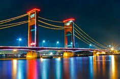 ampera bridge @palembang