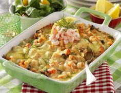 Fish Recipes, Seafood Recipes, Cooking Recipes, Healthy Recipes, Austrian Recipes, Swedish Recipes, Clean Eating, Fish And Seafood, Food Inspiration