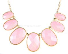 Pink Bubble Necklace Collar Necklace Statement by BubbleJewellery, $15.00
