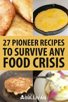 It makes sense to perfect pioneer recipes before you really need them. The pioneers learned how to make a little go a long way, what type of food lasted well, and how to combine their precious…More Emergency Preparedness Food, Emergency Preparation, Prepper Food, Emergency Supplies, Frugal Meals, Cheap Meals, Low Budget Meals, Frugal Recipes, Inexpensive Meals