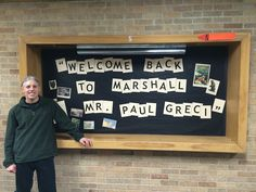 I had a warm welcome from two schools I attended in the 70's (Marshall and Jackson) when I came back as a visiting author.