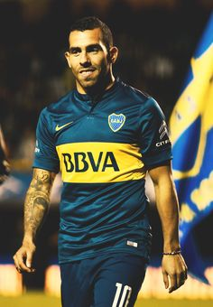 CarlosTevez *BOCA juniors* Soccer Fifa, Soccer Guys, Football Players, Football Icon, World Football, Football Jerseys, Argentina Soccer Team, St Etienne, Football Images