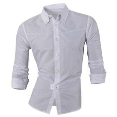 Plus Size Argyle Print Turn-Down Collar Long Sleeve Men's Shirt