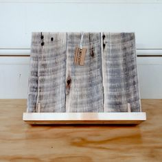 Book stand / cookbook stand / iPad stand / recipe by JamieGaunt