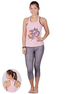 28e0b8940e0945 Yoga Sleeveless Padded Tank Tops For Women