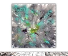 Buy LARGE Painting XXL - FREE SHIPPING - Astral Love 4 - 100x100x4 cm - Large Abstract, Supersized Painting - Ready to Hang, Hotel Wall Decor, Acrylic painting by Soos Tiberiu on Artfinder. Discover thousands of other original paintings, prints, sculptures and photography from independent artists.