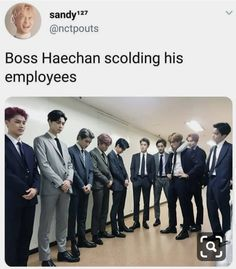 Taeyong looks genuinely sorry, jeahyun is happy he picked the right side, winwin is absolutely loving and doyoung is checking his shoes. Nct 127, Funny Kpop Memes, Exo Memes, Lucas Nct, Winwin, Taeyong, Jaehyun, K Pop, Day6 Sungjin