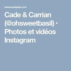 Cade & Carrian (@ohsweetbasil) • Photos et vidéos Instagram