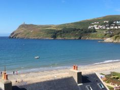 Port Erin looking out to Bradda Head. Isle of Man