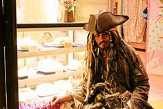 Captain Jack Sparrow cake shop?! In Nakano