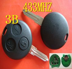 Find More Alarm Systems & Security Information about Free shipping Keyless Entry Fob 3 Button For MERCEDES BENZ Smart remote key 3 button 433MHZ,High Quality button mix,China button base Suppliers, Cheap button candle from Taizhou Luqiao Tongda Lock Service Shop on Aliexpress.com