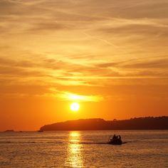 Neuer Blogpost online: Dieser Sonnenuntergang aus Kroatien