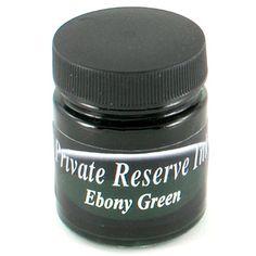 Private Reserve  Ebony Green   66ml Ink Bottle