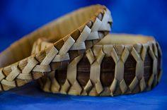Finished Lauhala Bracelets