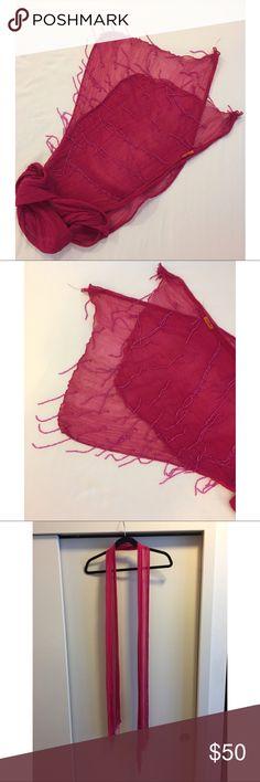 Chan Luu Beaded Scarf Chan Luu Beaded Scarf. Handmade. Chan Luu Accessories Scarves & Wraps