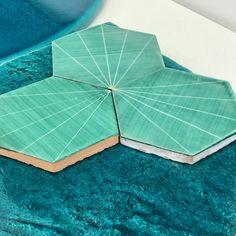 Tile trends for 2019 from Cersaie - Hello Peagreen Backsplash, Shapes, Tile, Trends, Color, Mosaics, Colour, Tiles, Beauty Trends