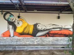 Fin DAC Completes Two Murals for Art Basel 2014 (8 pictures)