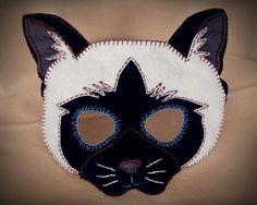 Cat Mask PDF Pattern. $5.00, via Etsy.