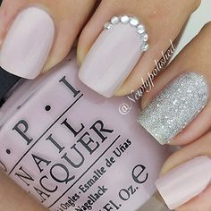 I am not usually a fan of nail art, but this is pretty! newlypolished #nail #nails #nailart