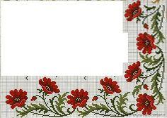 ENCANTOS EM PONTO CRUZ: Flores em Ponto Cruz