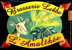 Goat Beer from France! No, not made from goats, you silly person. Made with barley and hops!