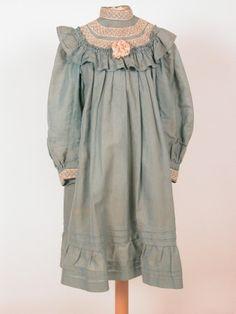 Date 1905 Materials Cotton, Lace, Silk Vintage Kids Fashion, Vintage Outfits, Antique Clothing, Historical Clothing, 18th Century Fashion, Girl Fashion, Fashion Outfits, Lace Silk, Cotton Lace